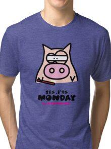 It's Monday... Kino's Moody Face Tri-blend T-Shirt