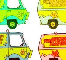 The Mystery Machine Sticker