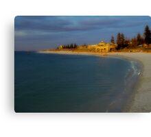 Sunset At Cottesloe Beach Canvas Print