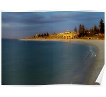 Sunset At Cottesloe Beach Poster