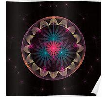Flower Sphere Ball Poster