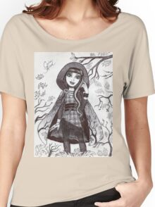 Iconic Cerise Hood Women's Relaxed Fit T-Shirt
