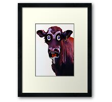 BUTCHER TWO Framed Print