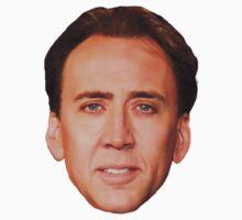 Nicolas Cage by twilightvomit