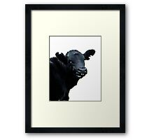 CHEEKY TWO Framed Print