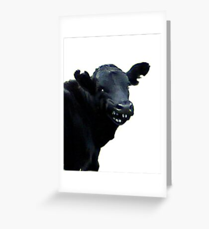 CHEEKY TWO Greeting Card