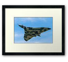 The Last Flying Flat-iron Framed Print