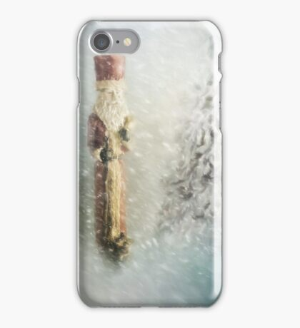St Nicholas in the Snow iPhone Case/Skin
