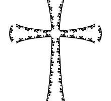 elegant cross by maydaze
