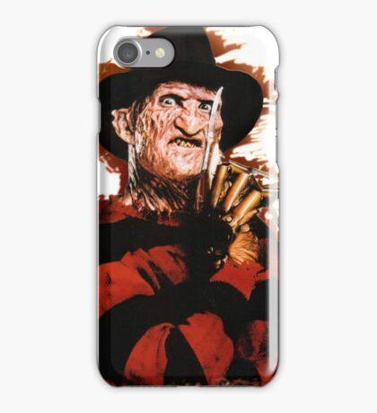 Freddy Krueger Potrait iPhone Case/Skin
