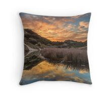 Dawn Creek Throw Pillow