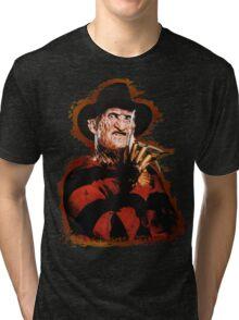 Freddy Krueger Potrait Tri-blend T-Shirt