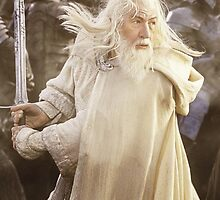 Gandalf the White (iPad/iPhone/iPod) by aforceofnature