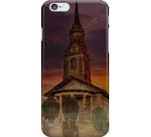 Misty Morning At Mereworth iPhone Case/Skin