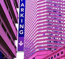 Parking perspective by Susan J. Purpura