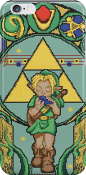 Link's Art Nouveau by ThirdhandHarpy