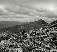 The Lakeland Fells by EvilTwin