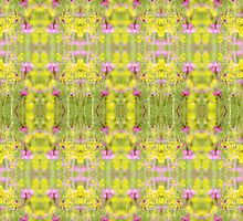 Botanical Zest Fusion Kaleidoscope IPhone Case by Circe Lucas