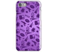 Warehouse 13 Case (Purple) iPhone Case/Skin