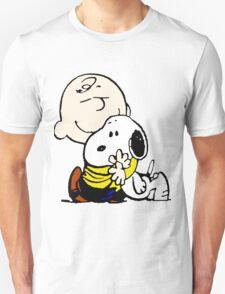 Lovely Snoopy Hug T-Shirt