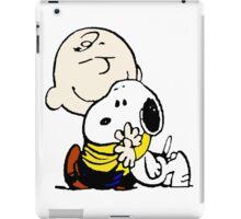 Lovely Snoopy Hug iPad Case/Skin