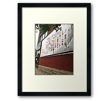 Downtown_Bloomington,IN Framed Print