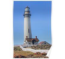 Pidgeon Point Lighthouse, California Poster