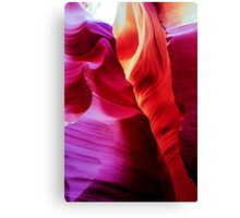 Sandstone Swirls - Lower Antelope Canyon, Arizona, USA Canvas Print