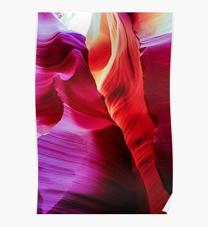 Sandstone Swirls - Lower Antelope Canyon, Arizona, USA Poster