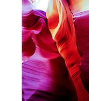 Sandstone Swirls - Lower Antelope Canyon, Arizona, USA Photographic Print
