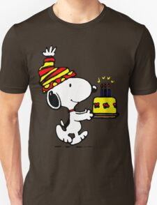 Happy Birthday Snoopy T-Shirt