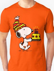 Happy Birthday Snoopy T-Shirt
