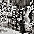 Street Art 1 - B&W by PhotosByHealy