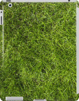 Grass Camouflage Case Hide your ipad in Grass! by adam9596