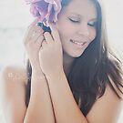 Purple Rose by Debbie Lourens