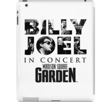 BILLY JOEL MADISON SQUARE GARDEN iPad Case/Skin