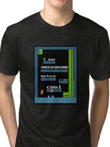 Mario Underground Tri-blend T-Shirt