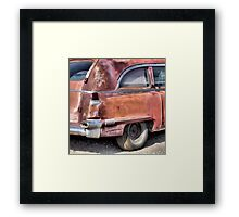 Cadillac Ambulance Framed Print