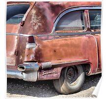 Cadillac Ambulance Poster