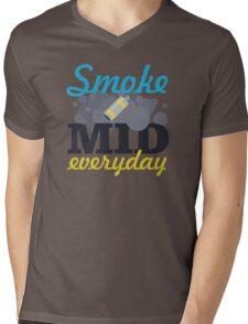 Smoke Mid Everyday Mens V-Neck T-Shirt
