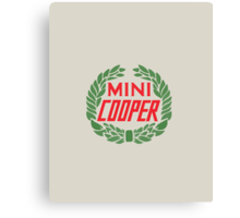 Mini Cooper Logo Canvas Print