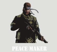 Metal Gear Solid T-shirt - Peace Maker by razaflekis