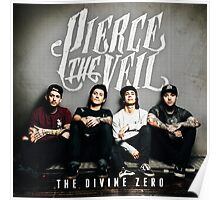 PIERCE THE VEIL DIVINE ZERO Poster