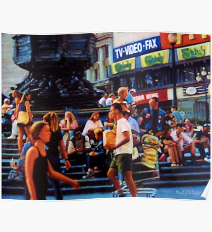 Piccadilly Street Scene 1 Poster
