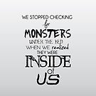 Monsters inside us by trilac