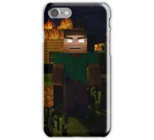 Minecraft Herobrine iPhone Case/Skin
