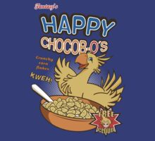 Happy chocobo-os by DavidBear
