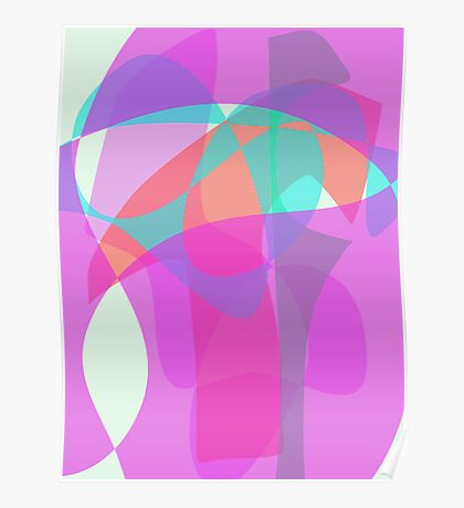 Original Abstract Vertical Poster
