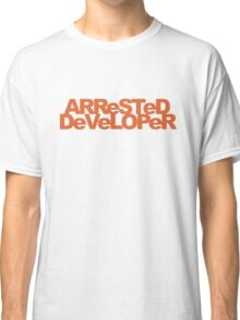 ARReSTeD DeVeLOPeR - Programmer Pun Classic T-Shirt