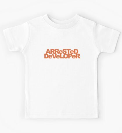 ARReSTeD DeVeLOPeR - Programmer Pun Kids Tee